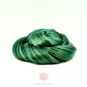 اسلایم متالیک سبز یشمی