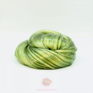 اسلایم متالیک سبز زیتونی